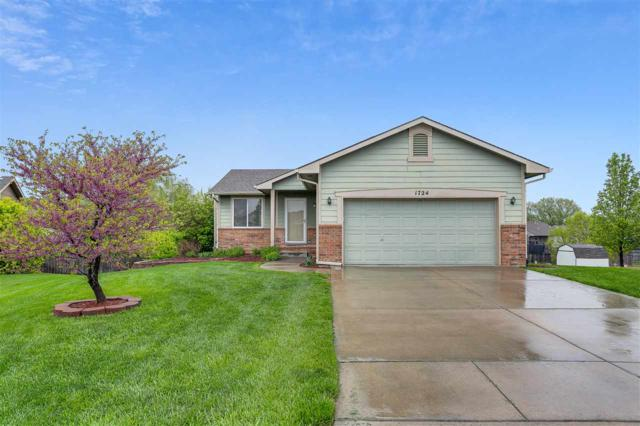 1724 N Amber Ridge Pl., Derby, KS 67037 (MLS #565681) :: On The Move