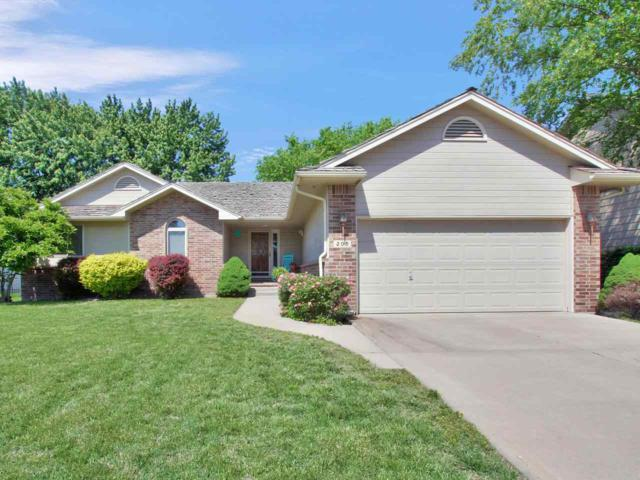 205 S Springwood Dr, Derby, KS 67037 (MLS #566705) :: Wichita Real Estate Connection