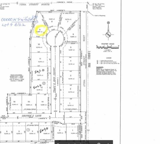 00000 N Trail's End Ct Lot 9 Blk 2 Dro, Mount Hope, KS 67108 (MLS #568138) :: On The Move