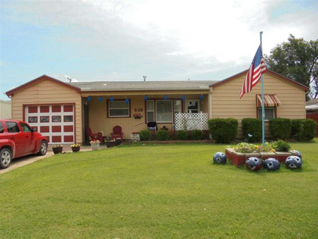 528 N Main St, Caldwell, KS 67022 (MLS #568678) :: Lange Real Estate