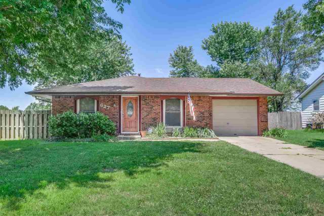 627 N Walnut St, Goddard, KS 67052 (MLS #569261) :: Lange Real Estate