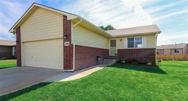 5406 S Elmhurst Cir, Wichita, KS 67216 (MLS #569411) :: Lange Real Estate