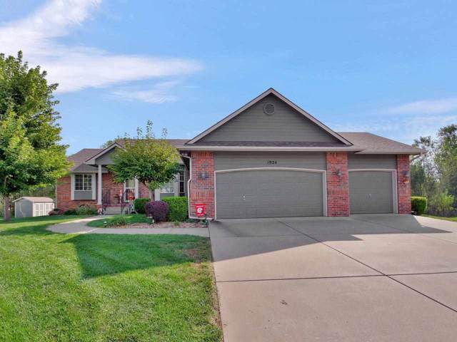 1924 N Newberry Pl, Derby, KS 67037 (MLS #572339) :: On The Move