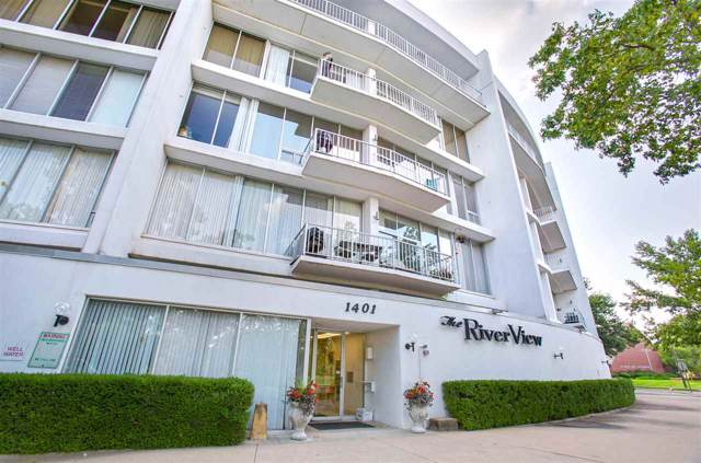 1401 W River Blvd 2D, Wichita, KS 67203 (MLS #572926) :: Lange Real Estate