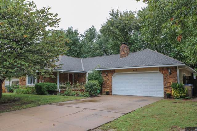 907 N Briarwood Rd, Derby, KS 67037 (MLS #573106) :: Lange Real Estate