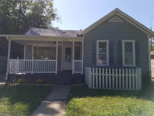 422 W Lincoln Ave, Wellington, KS 67152 (MLS #573131) :: Lange Real Estate