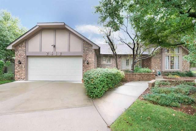 2412 N Hathway Cir, Wichita, KS 67226 (MLS #573287) :: Lange Real Estate