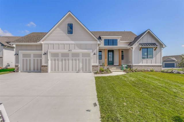 2402 N Bluestone St, Andover, KS 67002 (MLS #573321) :: Keller Williams Hometown Partners