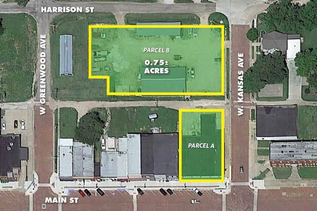 202 & 204 Main St., Little River, KS 67457 (MLS #573399) :: Graham Realtors