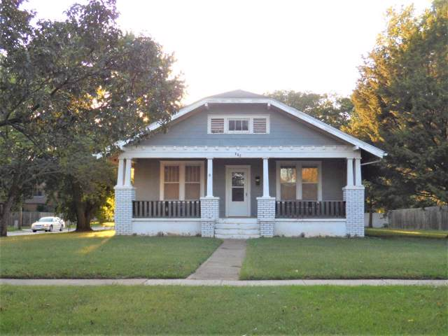 802 N Springfield Ave, Anthony, KS 67003 (MLS #573520) :: On The Move