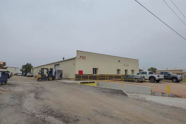 404 E Industrial Rd, Goddard, KS 67052 (MLS #574025) :: Lange Real Estate
