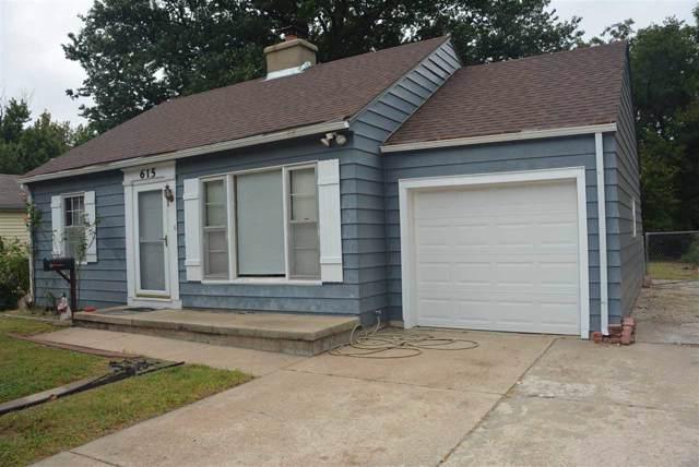 615 S Pershing St, Wichita, KS 67218 (MLS #574570) :: On The Move