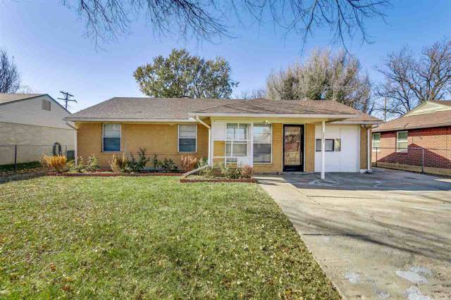 2243 S Hiram Ave, Wichita, KS 67213 (MLS #574732) :: On The Move