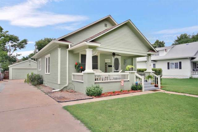 627 S Millwood St, Wichita, KS 67213 (MLS #574738) :: On The Move
