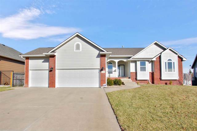 10710 E Zimmerly St, Wichita, KS 67207 (MLS #574791) :: Lange Real Estate