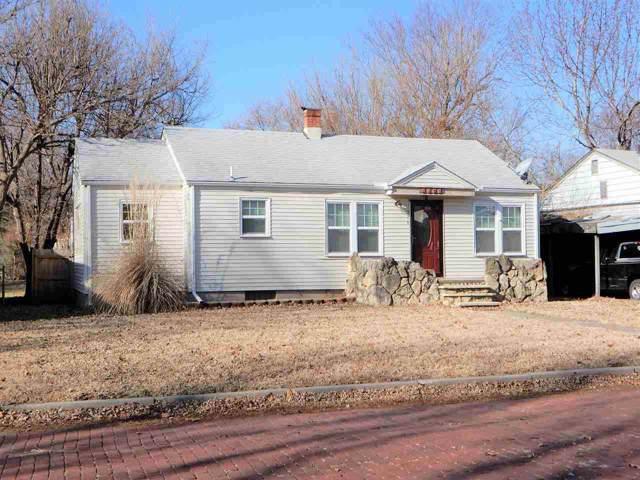 1109 N B Street, Arkansas City, KS 67005 (MLS #575386) :: Graham Realtors