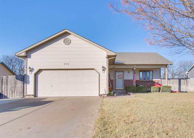 931 N Meadow Rd, Valley Center, KS 67147 (MLS #575523) :: Lange Real Estate