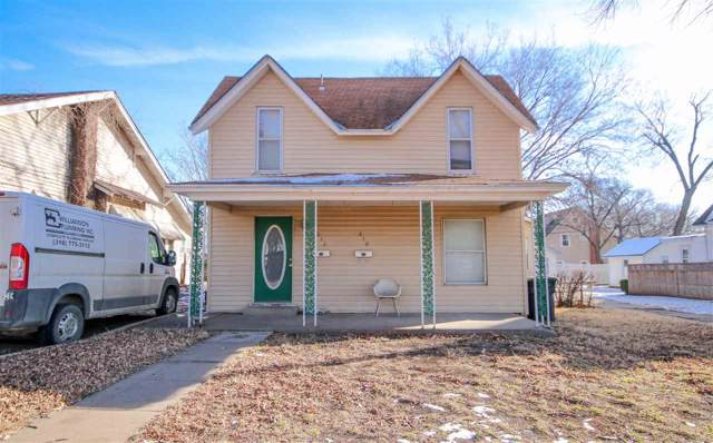 810 and 812 State St, Augusta, KS 67010 (MLS #575737) :: Lange Real Estate