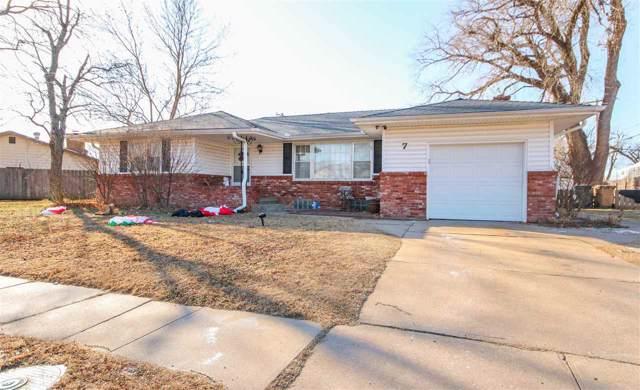 7 Eastwood Dr, Hutchinson, KS 67502 (MLS #575836) :: Lange Real Estate