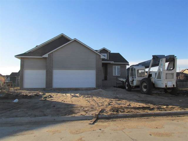 5303 N Pebblecreek, Bel Aire, KS 67226 (MLS #576279) :: Lange Real Estate