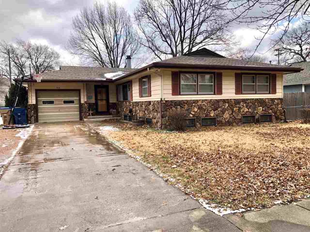 816 N Linden St, Belle Plaine, KS 67013 (MLS #576451) :: Lange Real Estate