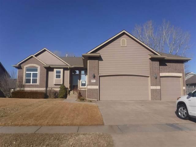 1418 E Woodbrook St, Derby, KS 67037 (MLS #576453) :: Lange Real Estate