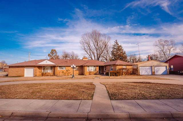 1336 N C St, Arkansas City, KS 67005 (MLS #576521) :: On The Move