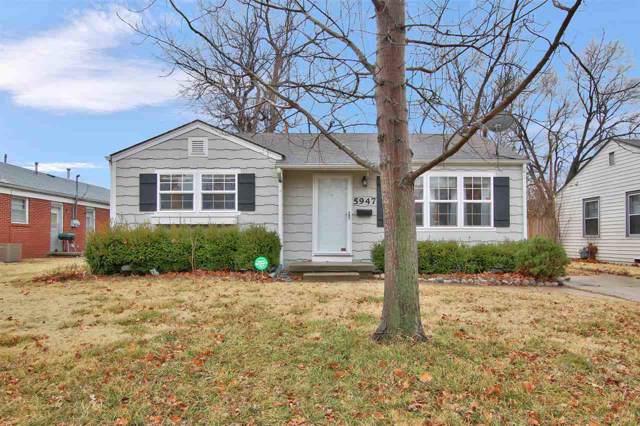 5947 E Bellaire St, Wichita, KS 67218 (MLS #576705) :: Lange Real Estate