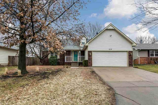 1618 S Chateau St, Wichita, KS 67207 (MLS #576727) :: Lange Real Estate