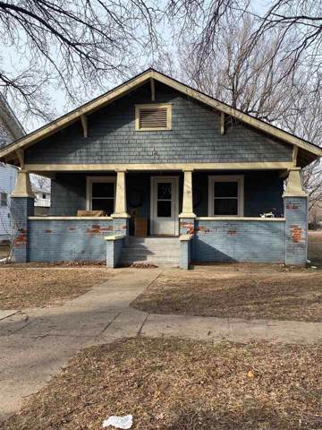 827 N A St, Arkansas City, KS 67005 (MLS #576769) :: On The Move
