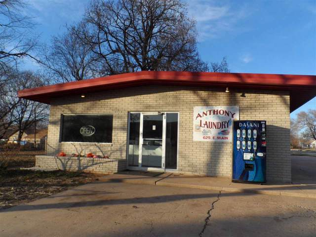 625 E Main St, Anthony, KS 67003 (MLS #576825) :: Keller Williams Hometown Partners