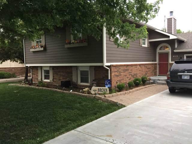413 E Tall Tree Rd, Derby, KS 67037 (MLS #576857) :: Keller Williams Hometown Partners