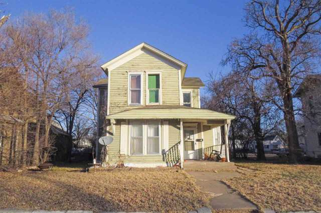 126 W 10TH AVE, Hutchinson, KS 67501 (MLS #576889) :: Lange Real Estate
