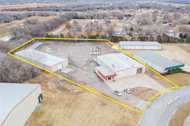 300 N Cain Dr, Haysville, KS 67060 (MLS #576912) :: On The Move
