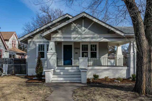 1744 N Fairview Ave, Wichita, KS 67203 (MLS #577013) :: On The Move