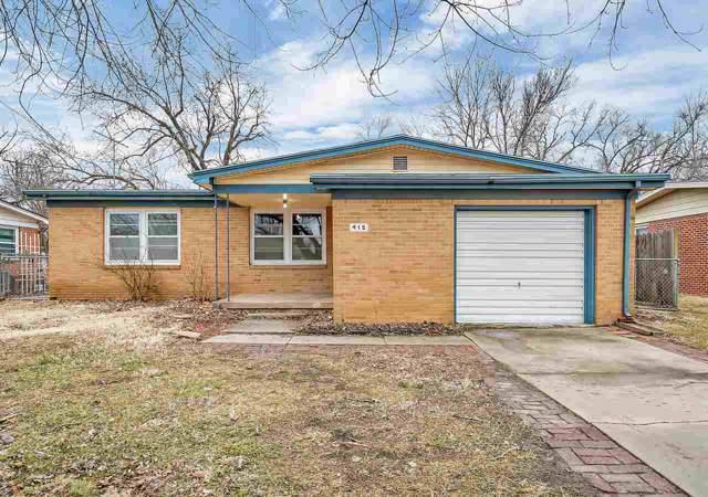 415 N Hillcrest Ave, Haysville, KS 67060 (MLS #577154) :: Lange Real Estate