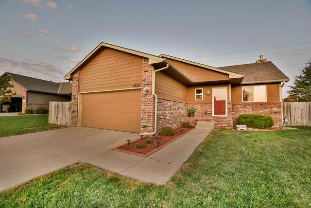 4322 N Dellrose, Wichita, KS 67220 (MLS #577201) :: On The Move