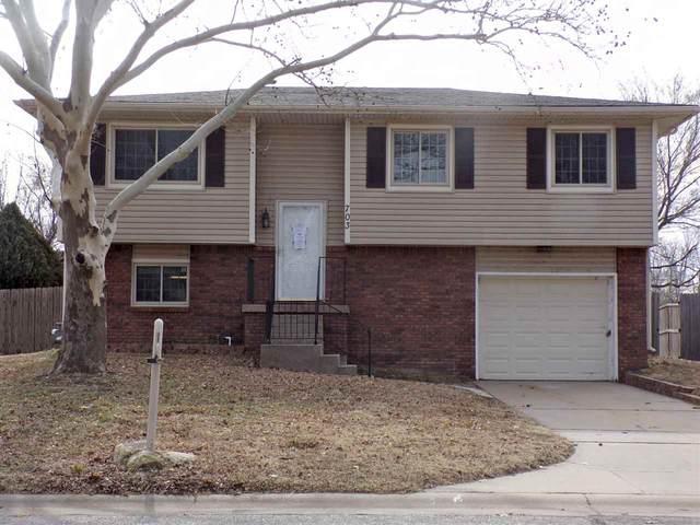 703 E Campus St, Wichita, KS 67216 (MLS #577607) :: Keller Williams Hometown Partners