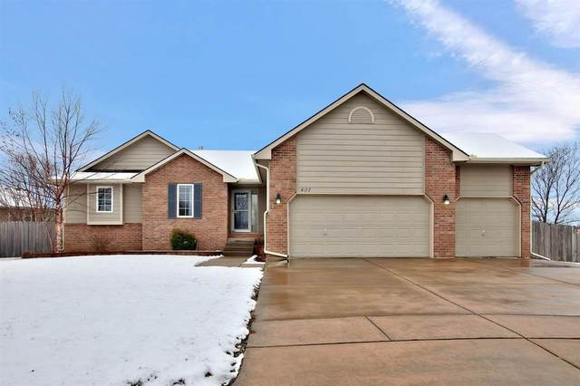 407 W Pepper Ridge Cir, Andover, KS 67002 (MLS #577709) :: On The Move