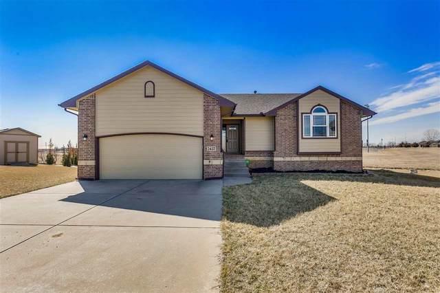 2437 N Woodridge Ct, Wichita, KS 67226 (MLS #577713) :: Lange Real Estate