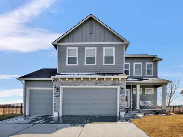 1203 W Ledgestone, Andover, KS 67002 (MLS #577839) :: Lange Real Estate