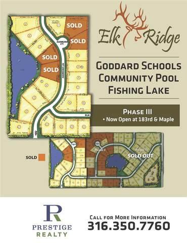 1517 E Elk Ridge Ave, Goddard, KS 67052 (MLS #580241) :: The Terrill Team
