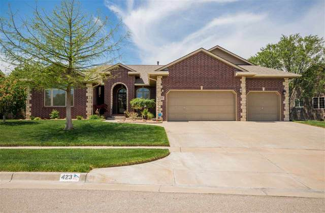 423 N Aksarben St, Wichita, KS 67235 (MLS #580805) :: Graham Realtors