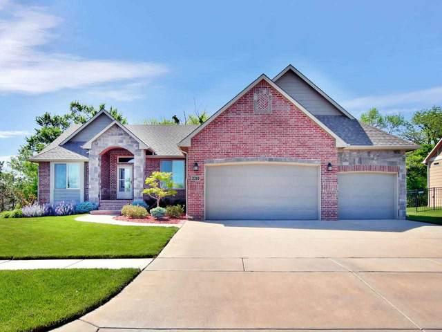 2219 N Rough Creek Rd, Derby, KS 67037 (MLS #580841) :: Lange Real Estate