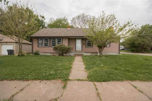 857 N Edgemoor St, Wichita, KS 67208 (MLS #580917) :: Lange Real Estate