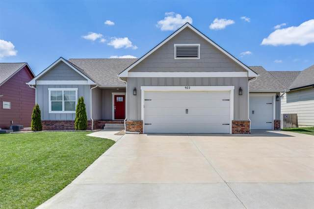 923 N Trail Dr, Mulvane, KS 67110 (MLS #580949) :: Lange Real Estate