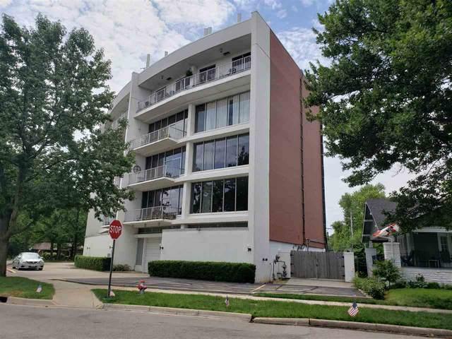 1401 W River Blvd #3D 3 D, Wichita, KS 67203 (MLS #581328) :: Lange Real Estate