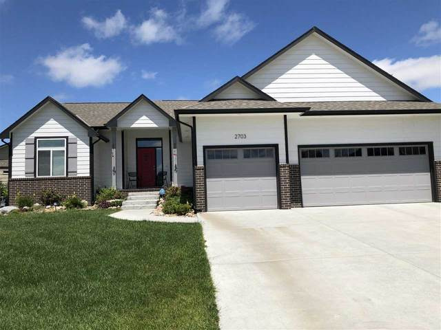 2703 N Bluestone Cir, Andover, KS 67002 (MLS #581579) :: Keller Williams Hometown Partners