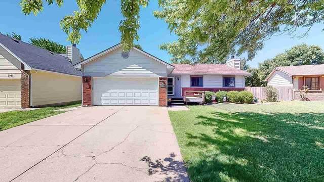 2147 N Covington Cir, Wichita, KS 67212 (MLS #581601) :: On The Move