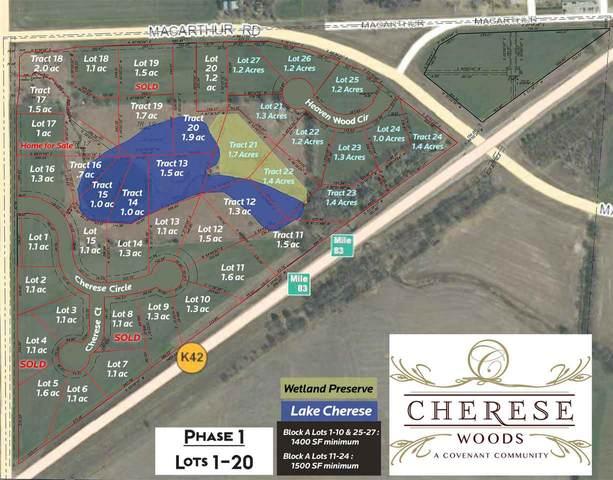 11920 Cherese Circle, Wichita, KS 67215 (MLS #582090) :: Graham Realtors